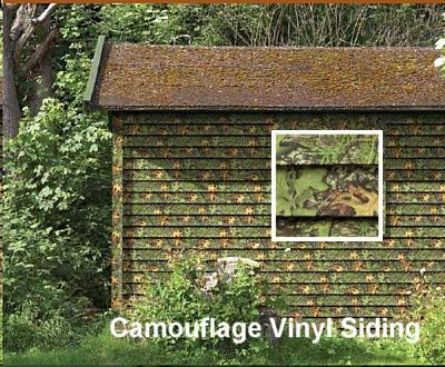Camouflage Vinyl Siding By Style Crest Inc In A Mossy