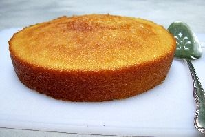 Vanilla Cake Recipe makes an old fashioned moist yellow cake with