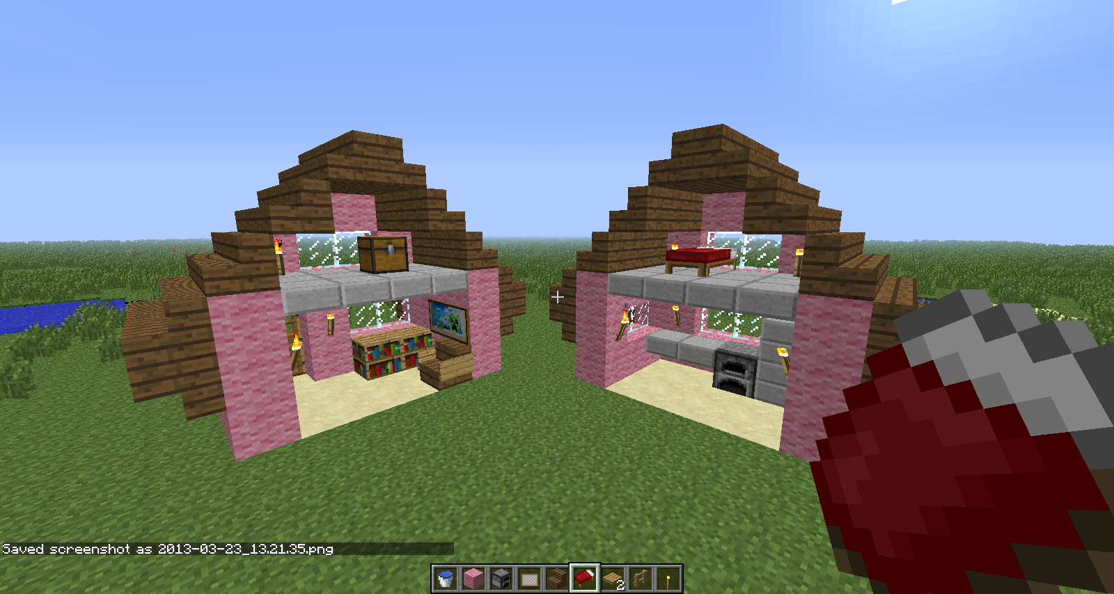 minecraft ideas unorthodox minecraft yes this doll house design began in minecraft