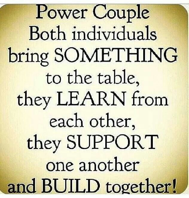 Power Couple Quotes | Us We Built A Foundation That Allows This Look Into Your Soul