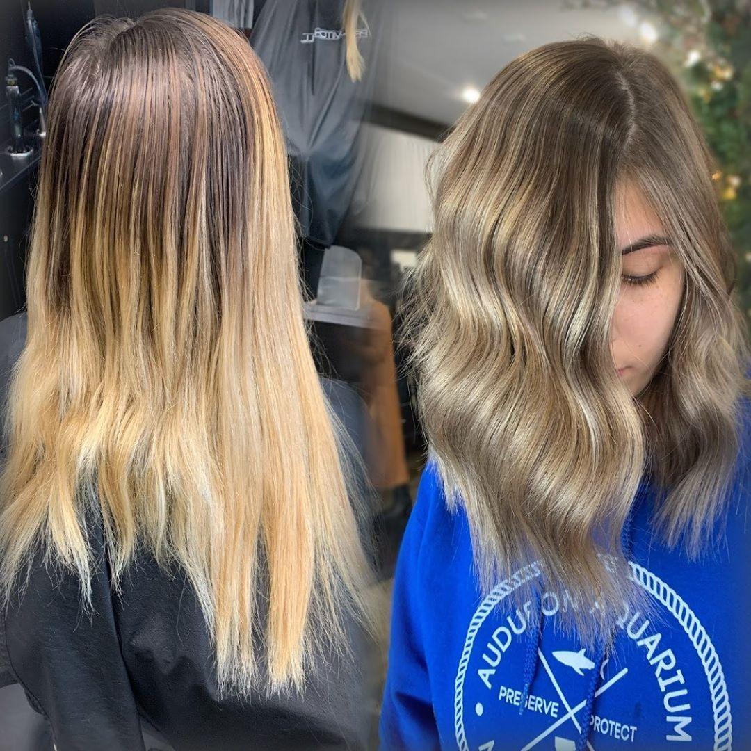 Lafayettela Louisianastylist Lafayettestylist Louisianastyle Haircut Haircut Lafayettela Lafayette In 2020 Dark Hair With Highlights Balayage Hair Creamy Blonde