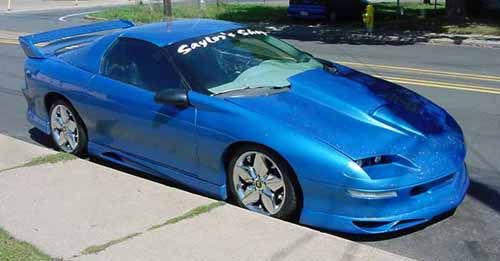 96 Camaro Body Kit 9397 94 95 96 Chevy Camaro 2dr Vizage Ground