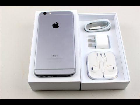 Iphone 6 Plus Unboxing 128gig Space Grey Edition Youtube