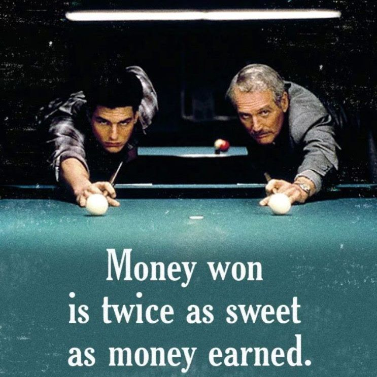 The Color Of Money Inspiring Quotes The Color Of Money Billiard