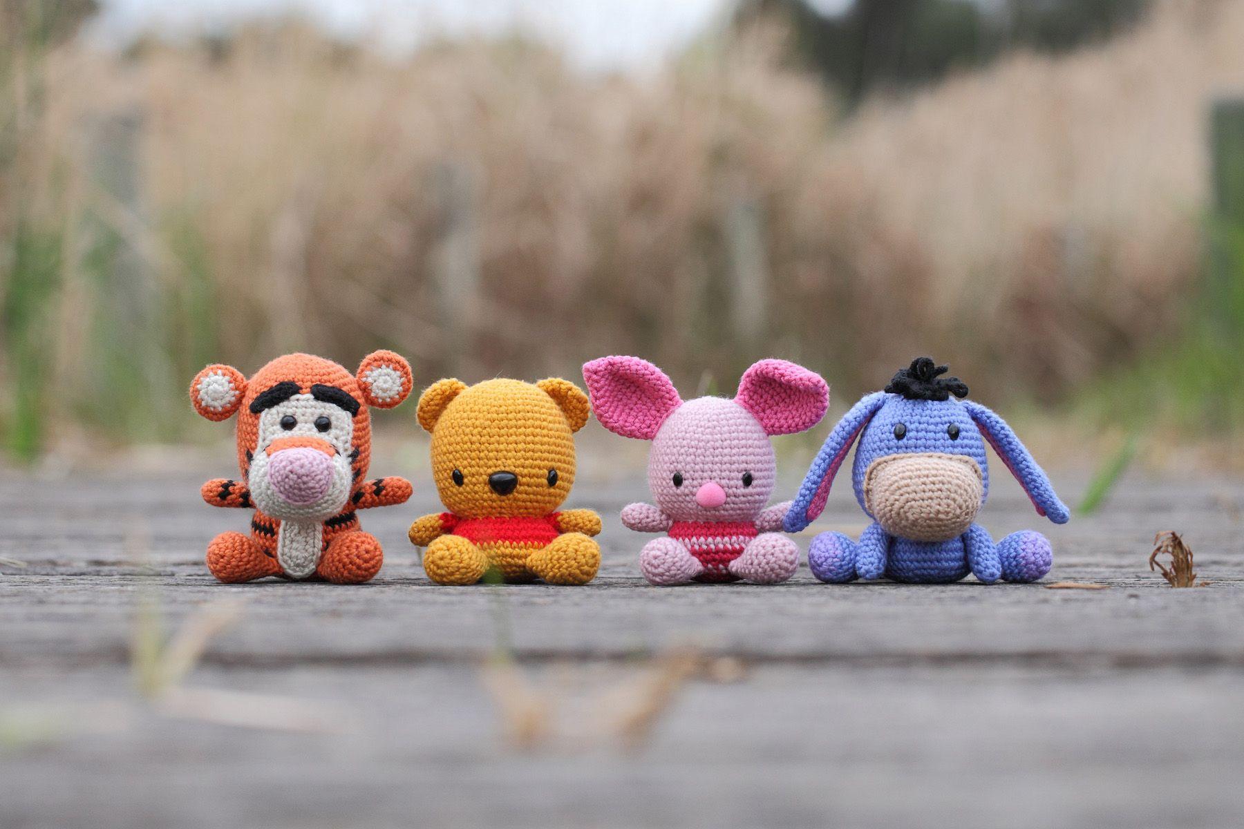 Winnie the Pooh and Friends | Amigurumis! | Pinterest | Patrones ...