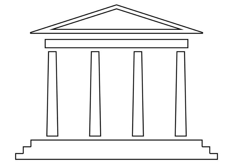 Coloring Page Temple Coloring Pages Solomons Temple