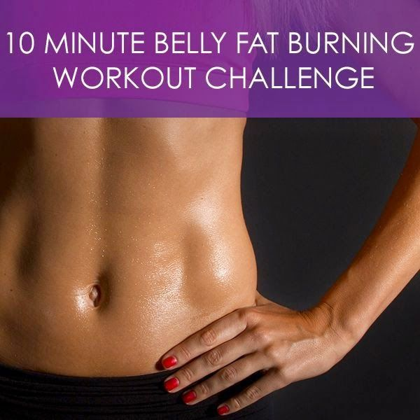 10 Minute Belly Fat burning Workout Challenge   FormalHealth