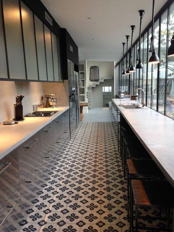 Tendance Deco La Cuisine Verriere Maison Cuisine Couloir Et Cuisine Verriere