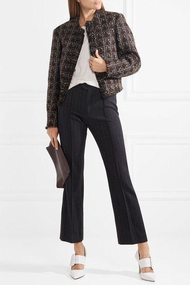 8f056234e8 Isabel Marant   Fania cropped wool-blend tweed jacket   NET-A-PORTER.COM