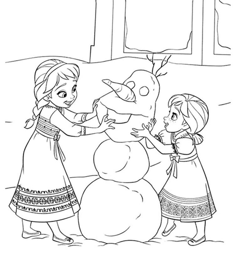 Free elsa coloring pages printable in 2020 frozen
