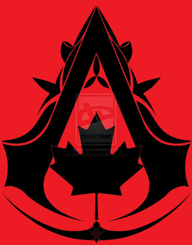Canadian Assassin Symbol By Mehranpersia On Deviantart Assassins