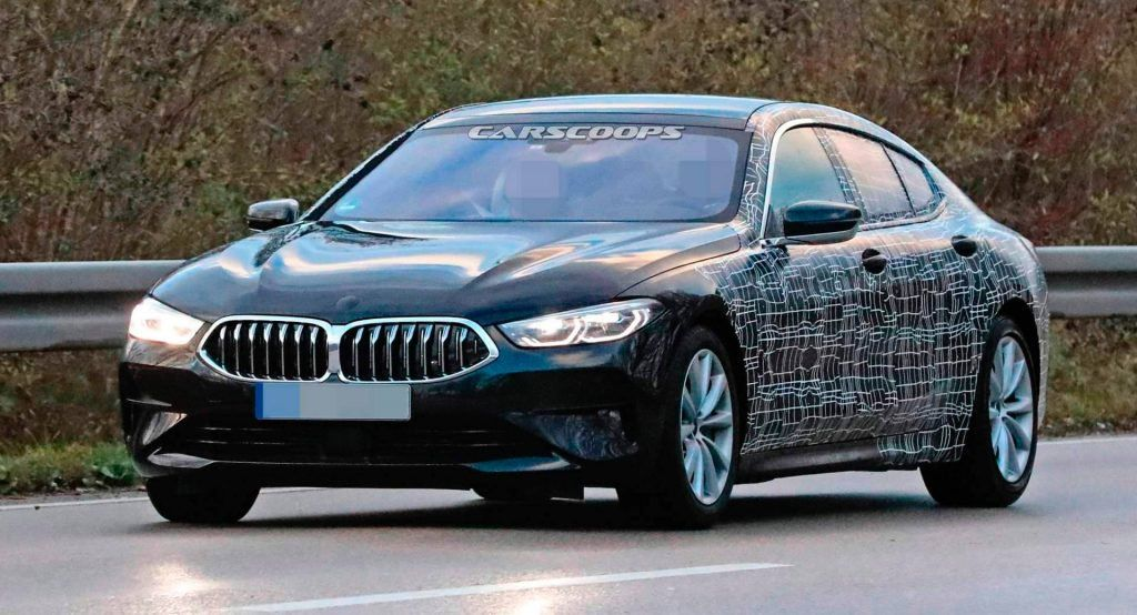 2020 Bmw 8 Series Gran Coupe Peels Off Its Face Mask Gran Coupe