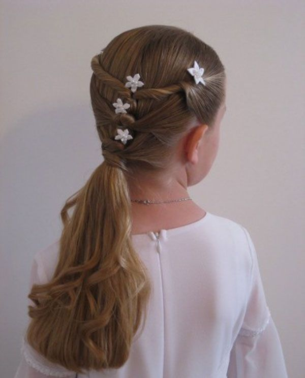 Easy Hairstyles For Kids Hairstyles For Kids Short Hair Stepstep Cute Braided Hairstyles