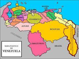 Resultado de imagen de MAPA DE VENEZUELA