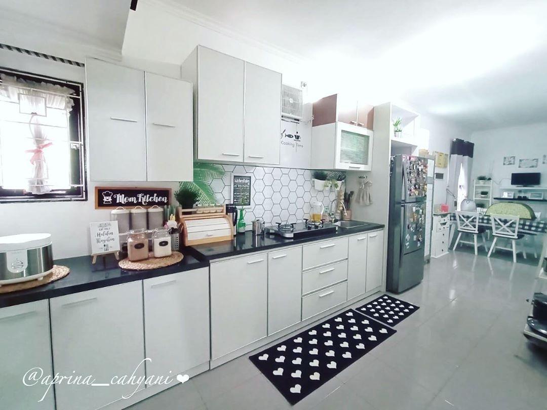 Model Kitchen Set Minimalis Dapur Kecil Sederhana Namun ...