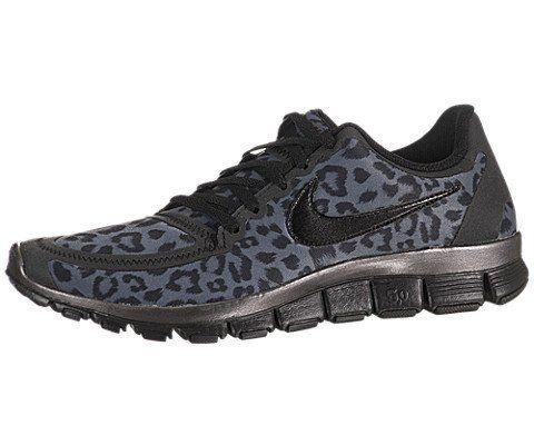 8a1eb145761a Nike Women s Free 5.0 V4 - Dark Grey   Black-Metallic Dark Grey