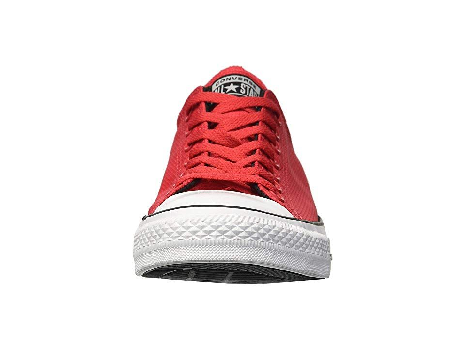 3f82303652d2a2 Converse Chuck Taylor All Star Lightweight Nylon - Ox Men s Lace up casual  Shoes Cherry Red Black White
