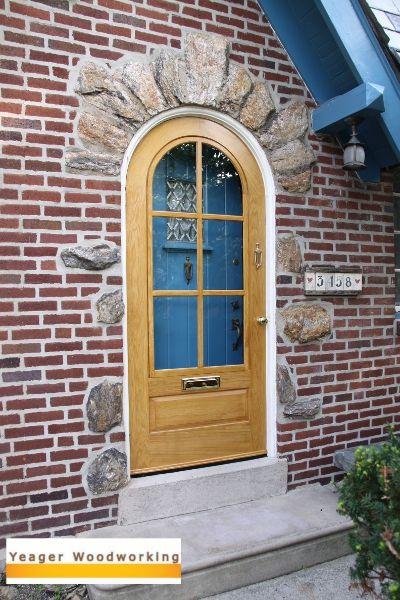 Gentil Round Top Storm Door. I Love The Structure Of This Door.