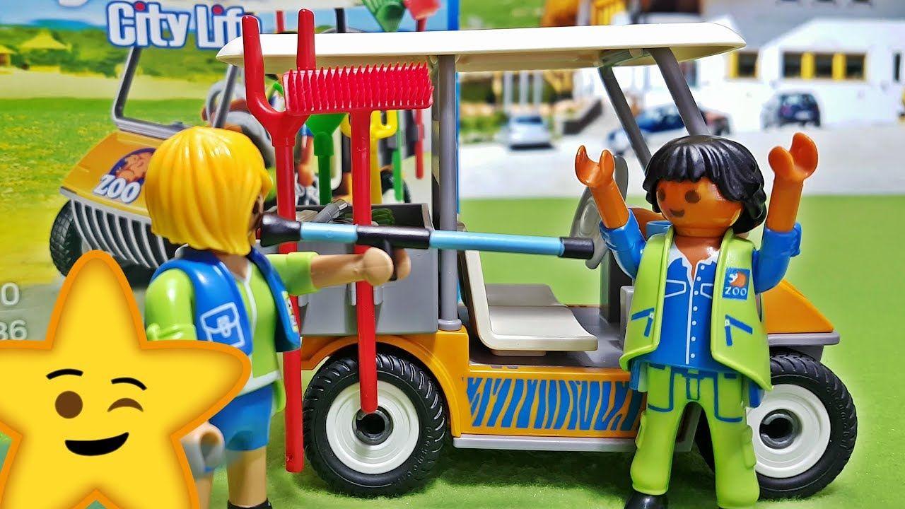 Playmobil Zoofahrzeug (6636) Spielzeug Test: Wir packen das ...