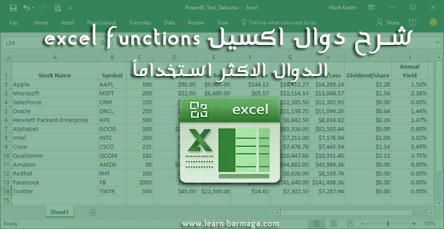 Pin On Excel