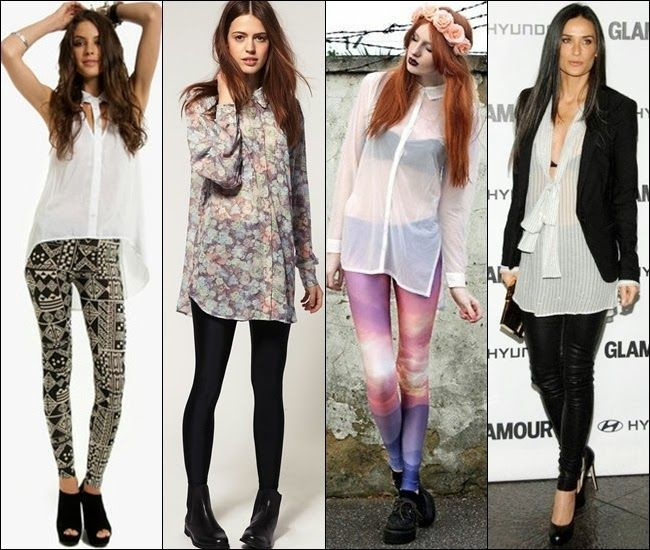 Image result for how to style leggings