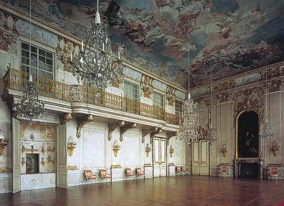 Residenzschloss Ansbach Festsaal Schlosser Deutschland Burgen Und Schlosser