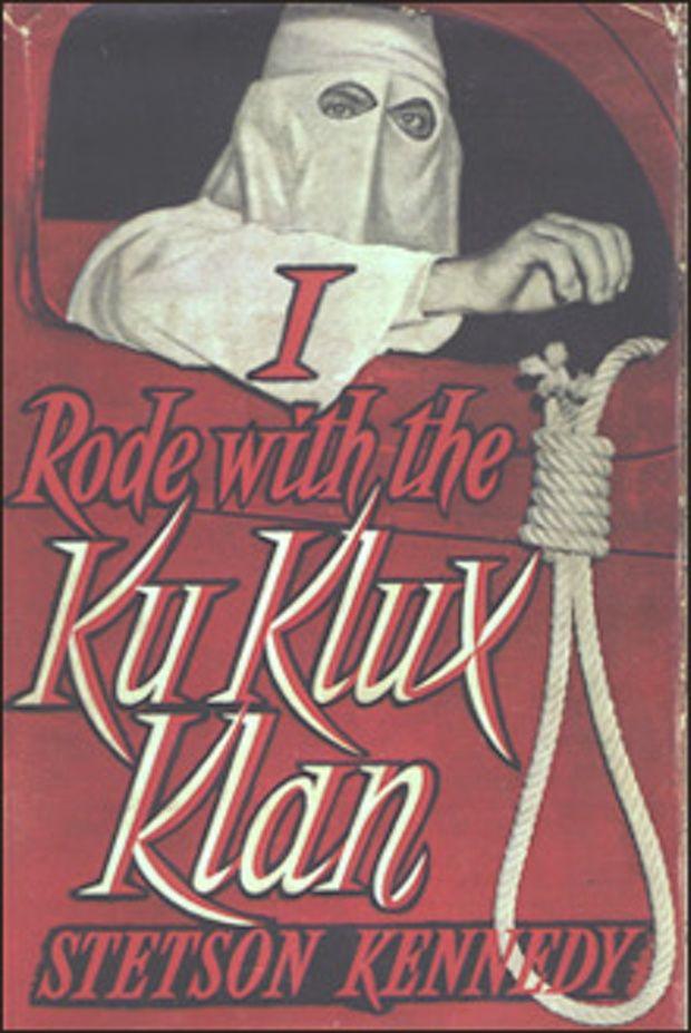 Stetson Kennedy Unmasker Of The Klan Design Plakat