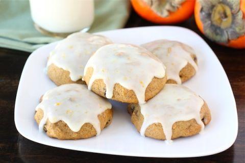 Persimmon cookies. Sub gf flour