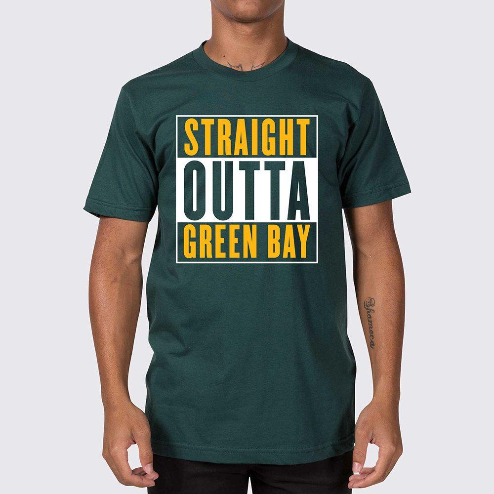 Straight Outta Green Bay Packers T-Shirt ( Green Bay Packers Shirt ... 30191b6df