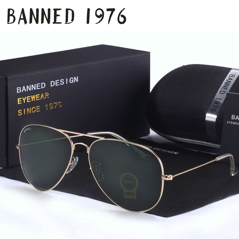 4838c977ee Sunglasses Sunglasses 2017 Top quality Glass lens designer brand Sunglasses  women men vintage aviation sunglasses feminin new shades oculos de sol ...