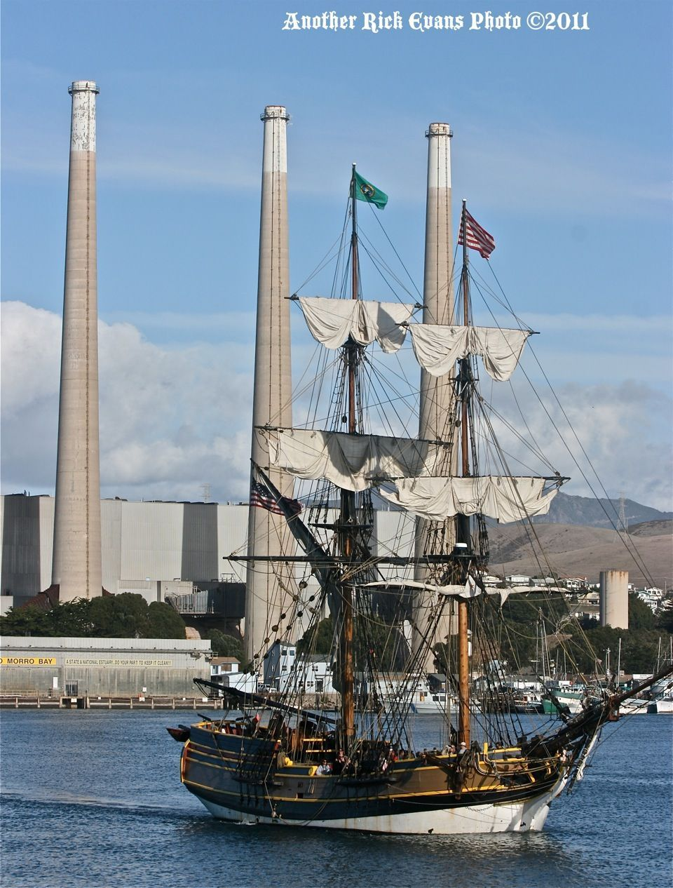 morro bay pirate ship