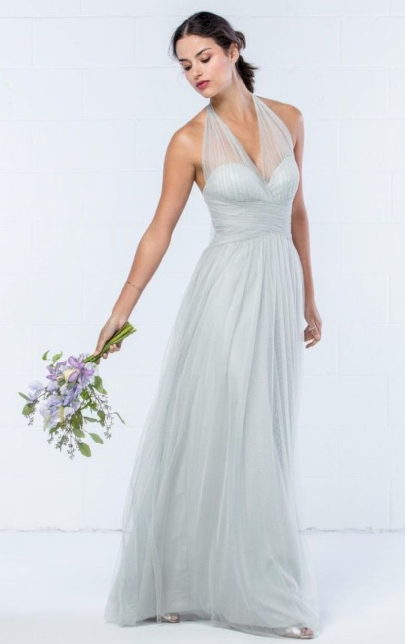 fantastic silver bridesmaid dresses ideas wedding dress