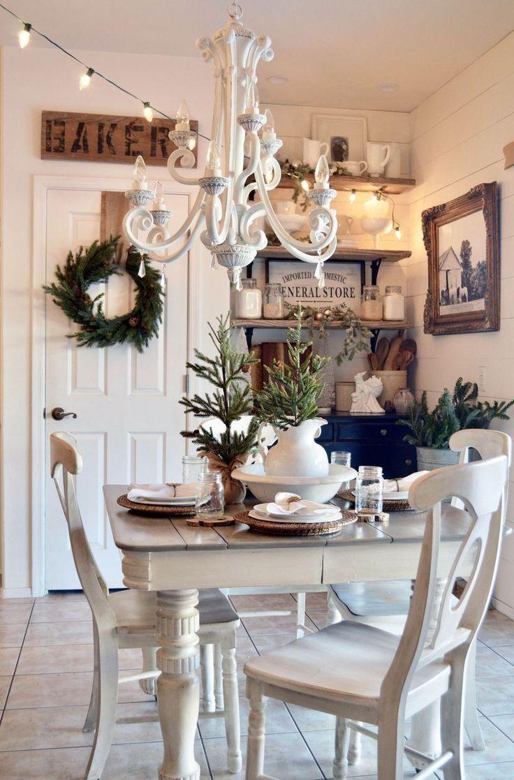 49 Beeindruckendes Bauernhaus Esszimmer Dekor Damit Sie Sich In Ihrem Zuhause Bewerben Konnen Kitchen Ideas In 2020 Haus Deko Shabby Chic Zimmer Speisezimmereinrichtung