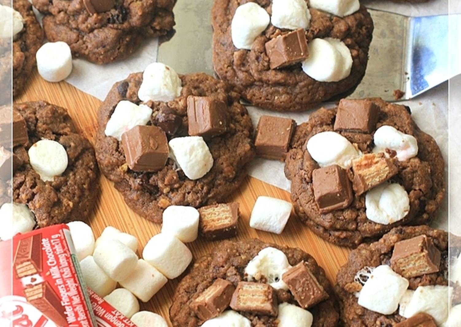 Resep S More Pudding Cookies Cookies Chewy Empukkk Pake Nutrijell Oleh Tintin Rayner Resep Resep Biskuit Fudgy Brownies Kukis Coklat