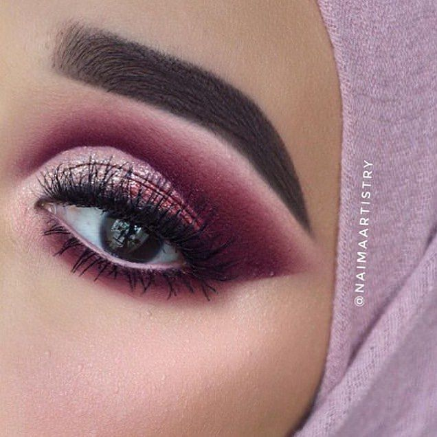 944a4094d29 @naimaartistry is pretty in pink wearing @lashylicious mink lashes in the  style