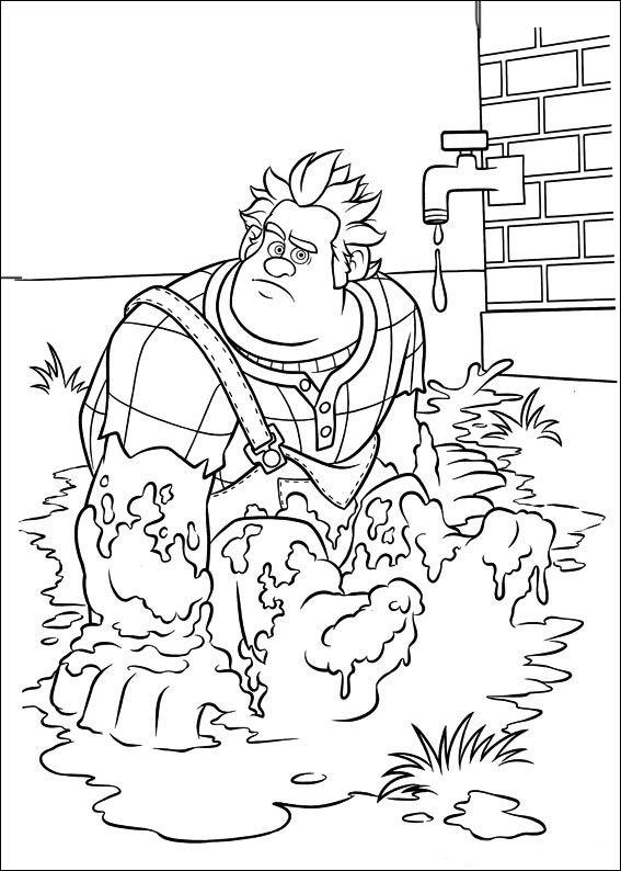 Dibujos para Colorear Rompe Ralph 22 | Dibujos para colorear para ...
