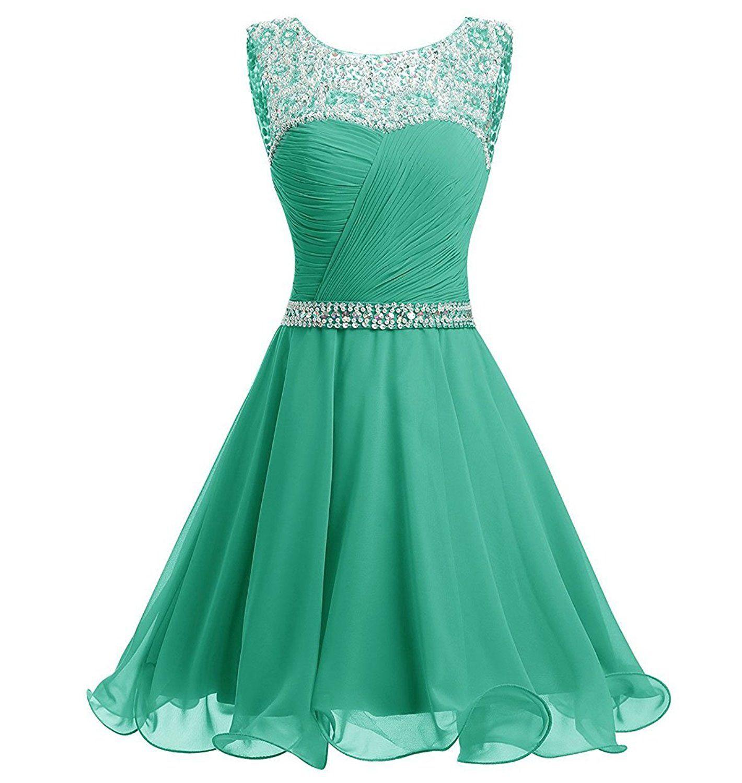Mre homme luxury beaded chiffon homecoming dresses short