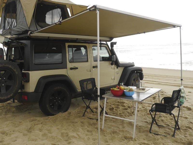 front runner easy out awning 2m overland accessories pinterest