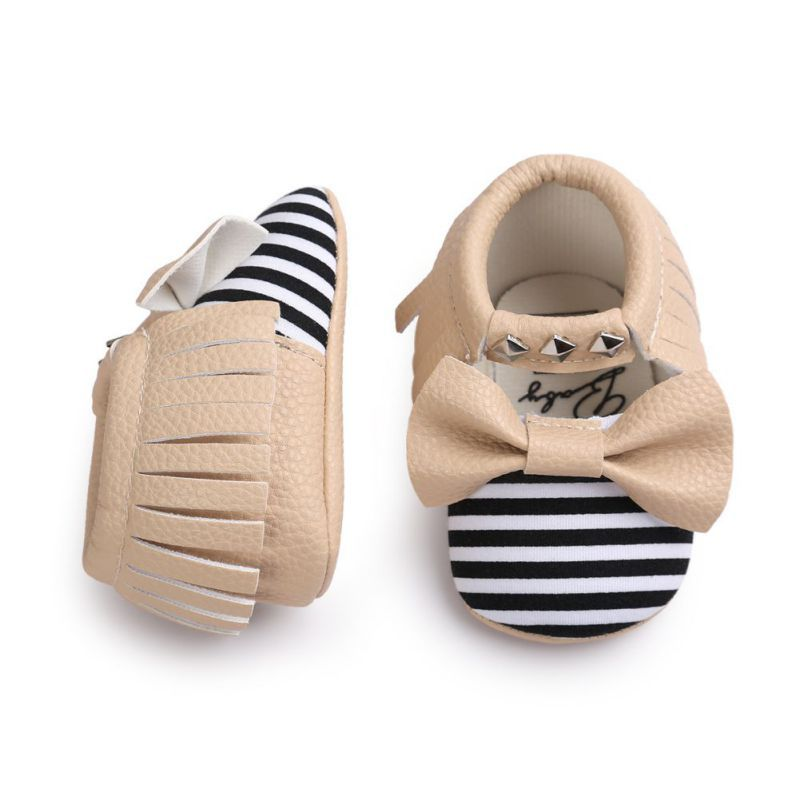 c8dc945c9d2 Newborn Bebe Fringe Soft Soled Non-slip Footwear Crib Shoes Baby Girl  Winter Moccasins Soft Moccs PU Leather Shoes First Walk  Affiliate