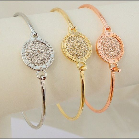 NWOT MICHAEL KORS BANGLES New. Inspired Michael Kors Jewelry Bracelets