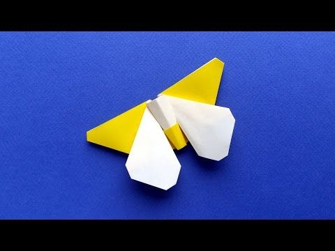 Origami Butterfly Tutorial 2 Colors Wings And Body Stphane