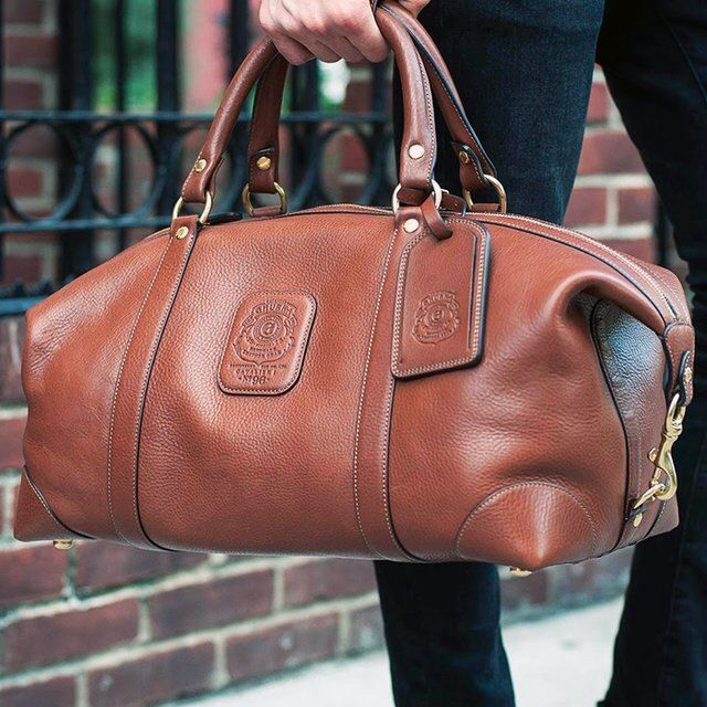 Cavalier I No. 96 Leather Duffle - Ghurka