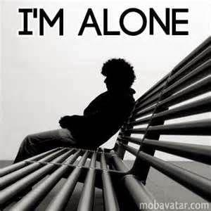 MARTINA: I am alone