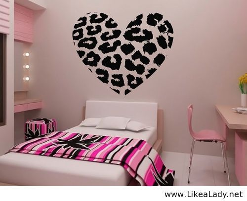 Cute room for girls-this might look good in my new room