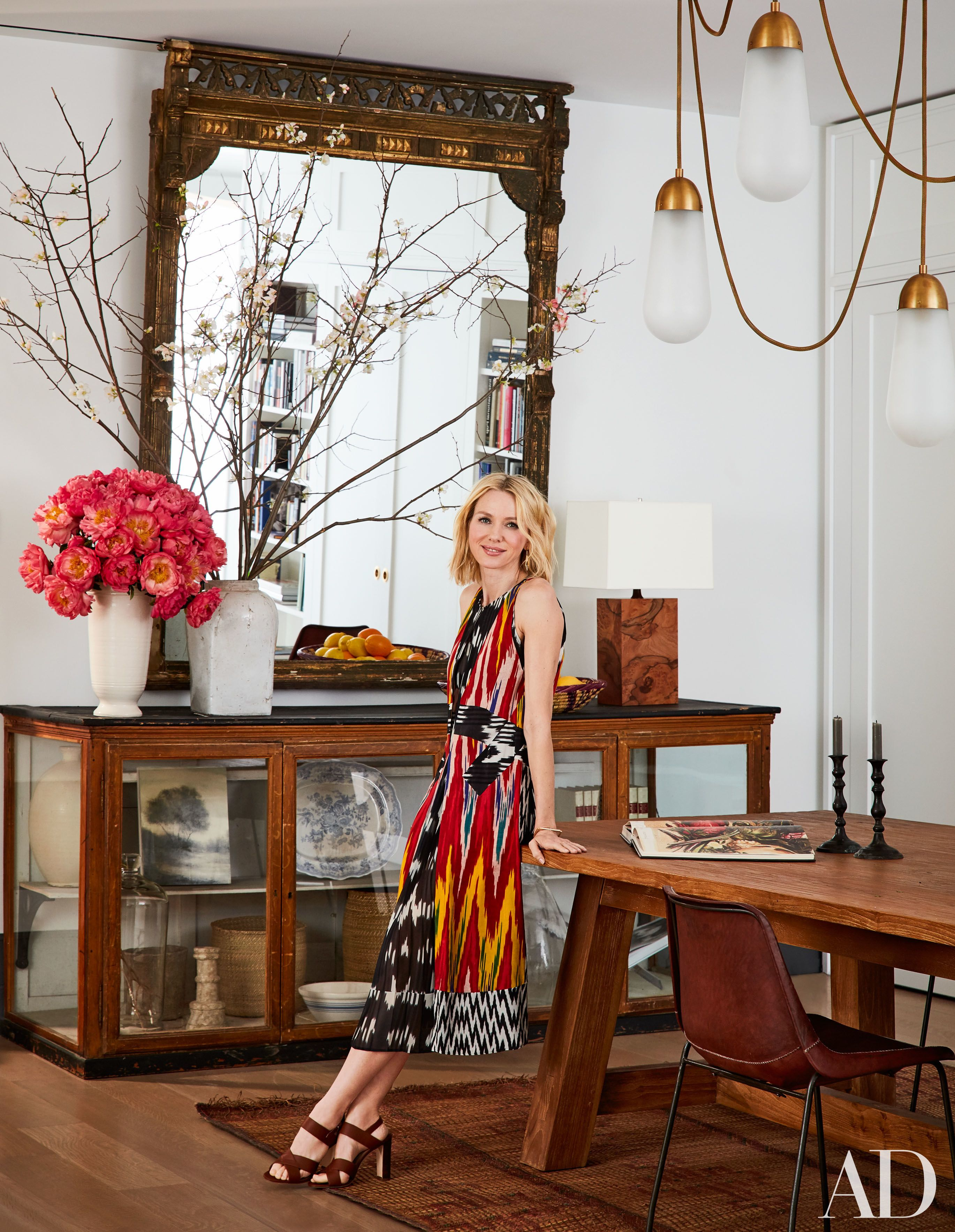 naomi watts and liev schreiber s stunning new york city apartment apartments the ralph lauren home sonora canyon dining table
