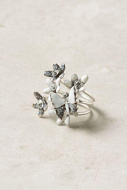 Pulled Nectar Ring Set #anthropologie