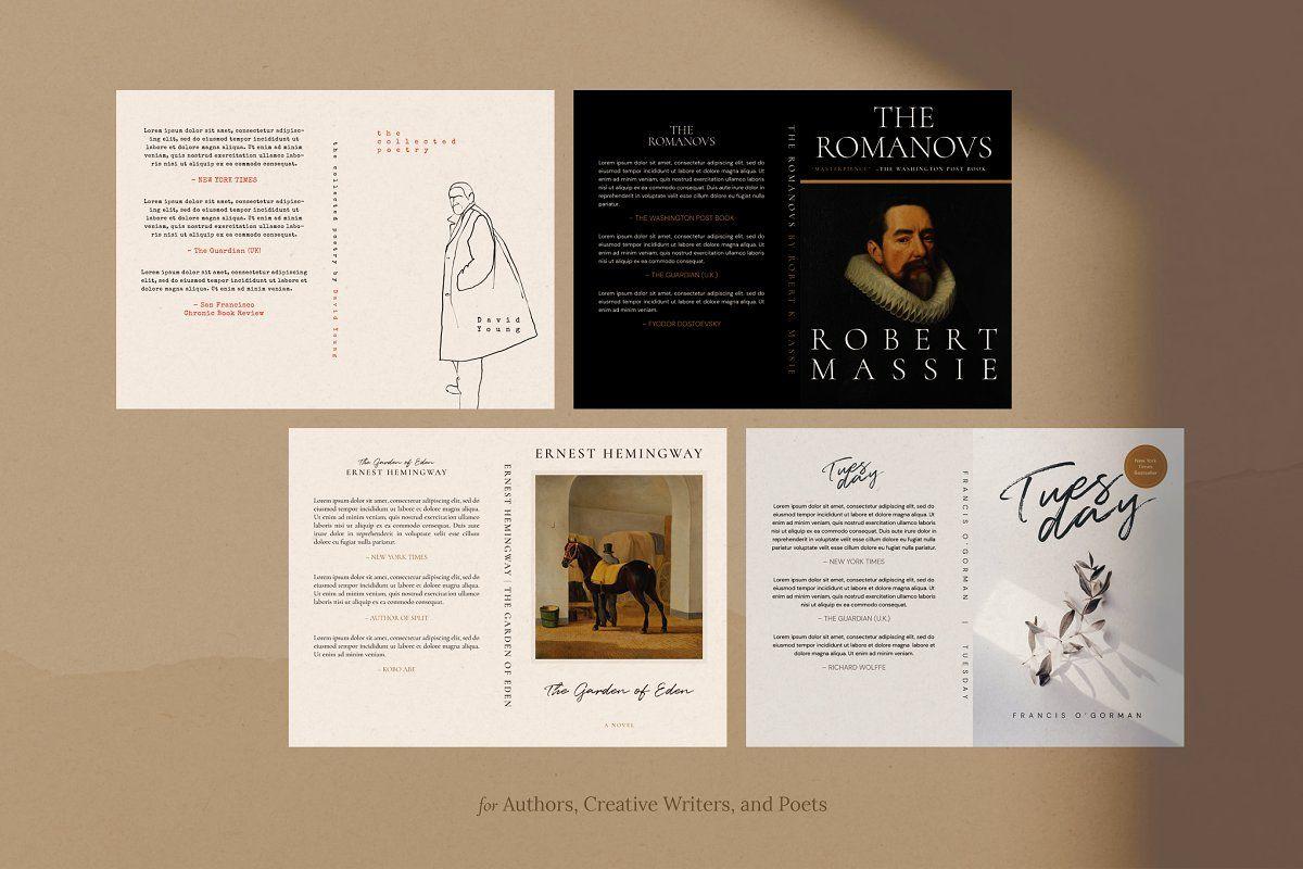 Book Cover Design Templates Vol 2 In 2020 Book Cover Design Template Book Cover Template Template Design