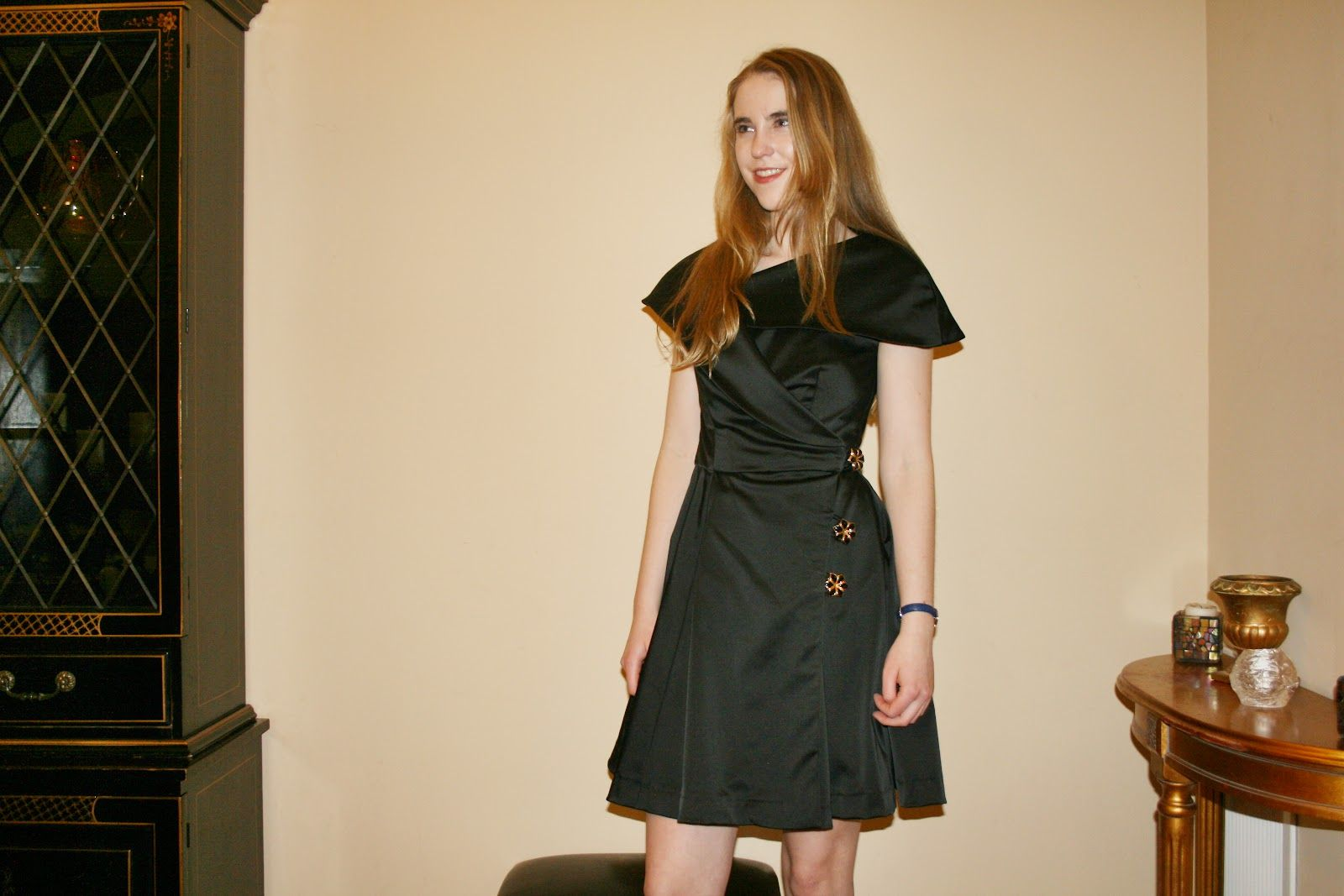A dress made from a coat pattern!