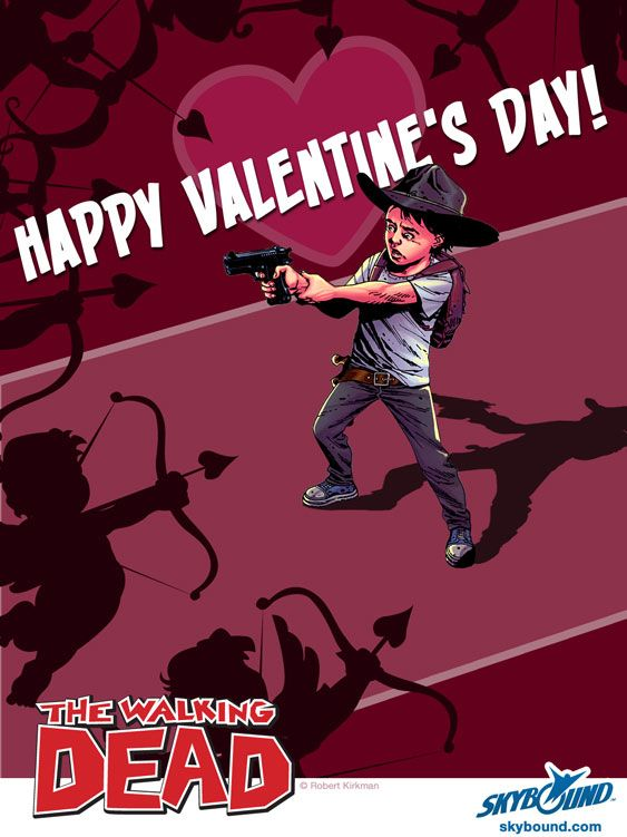 The Walking Dead Valentine Cards | The Walking Dead Valentineu0027s Day Cards Happy  Valentineu0027s ...