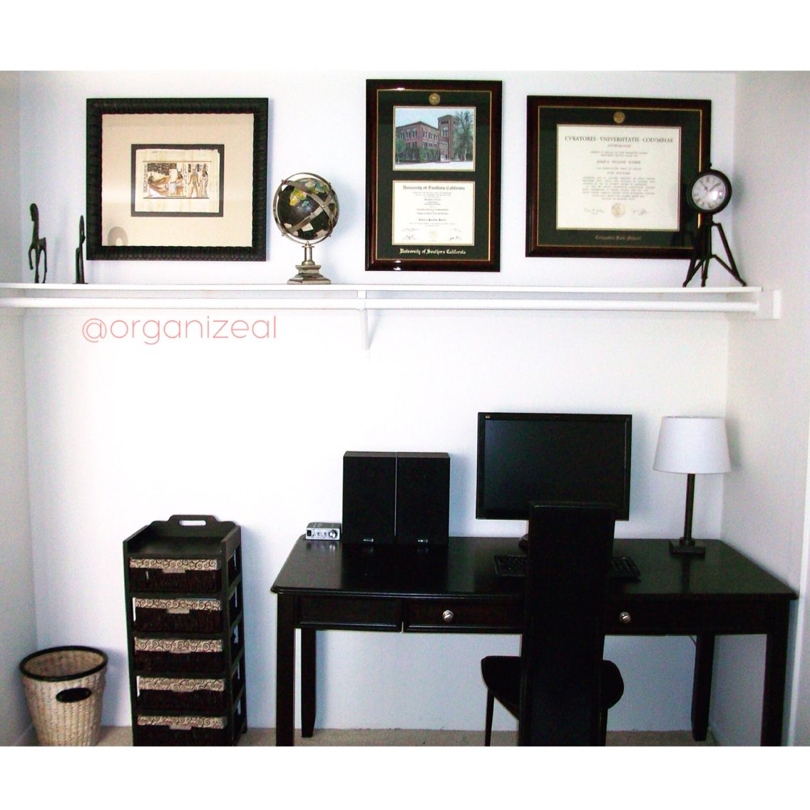 Charmant CLOSET Turned PAPERLESS HOME OFFICE Another Successful Space Transformed By  Www.Organizeal.com #